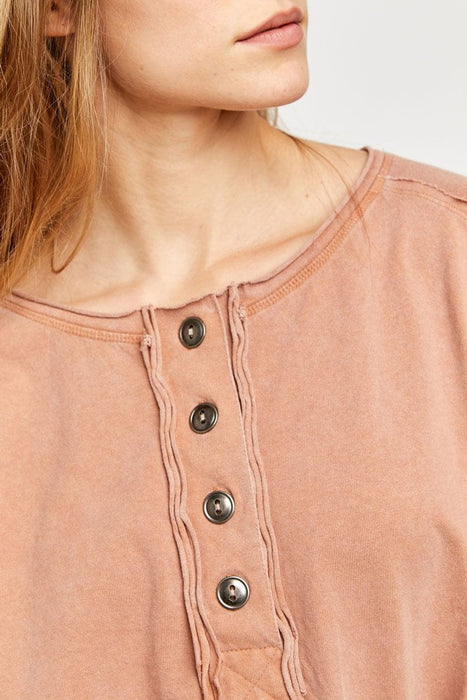 Free People Melodi Henley doe detail MILK MONEY