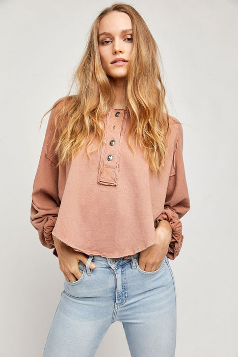 Free People Melodi Henley doe front MILK MONEY