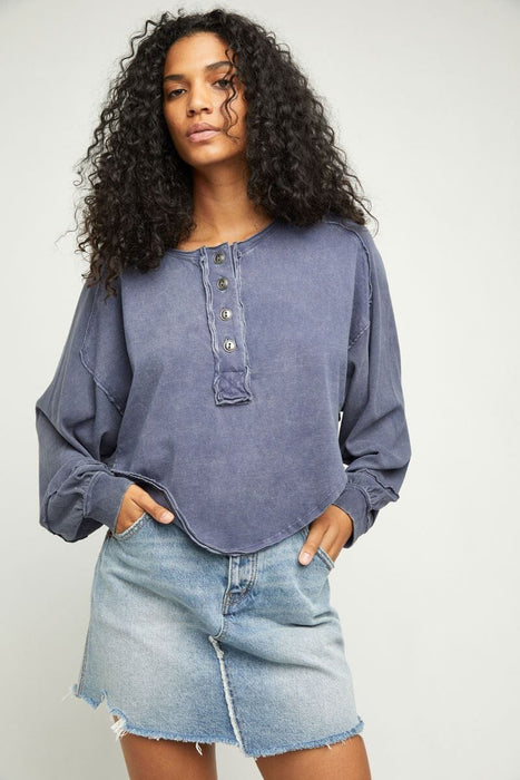 Free People Melodi Henley quarry front MILK MONEY