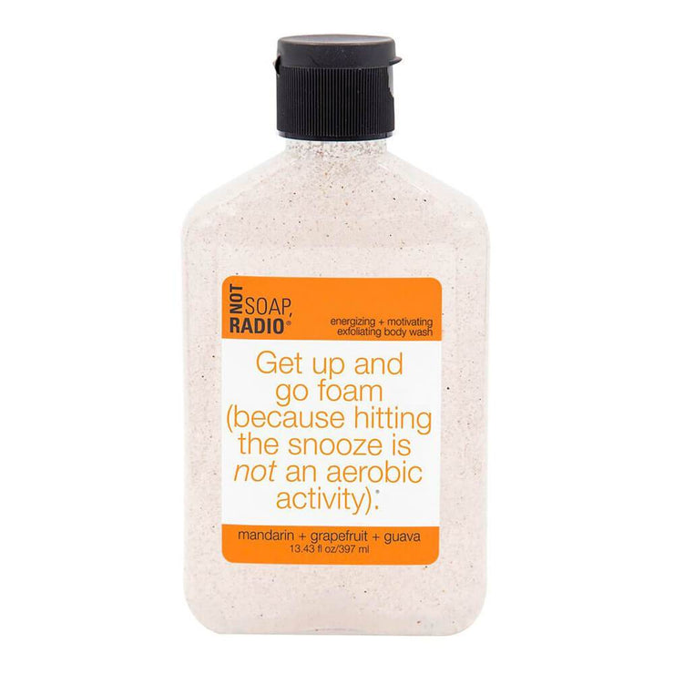 Get Up And Go Foam Body Scrub MILK MONEY