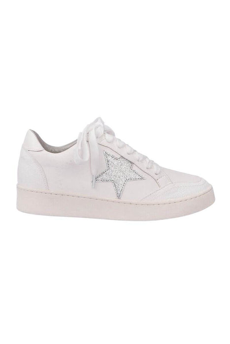 Gina Star Low Profile Sneaker white side MILK MONEY