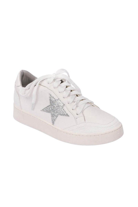 Gina Star Low Profile Sneaker side MILK MONEY