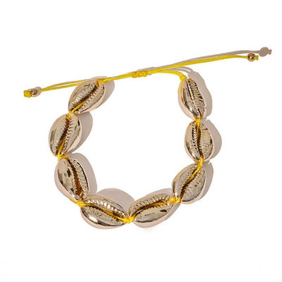 Gold Puka Shell Bracelet - MILK MONEY