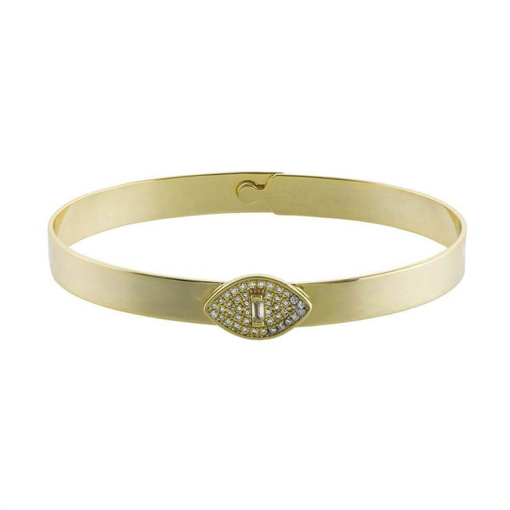 Guardian Evil Eye Cuff Bracelet gold MILK MONEY