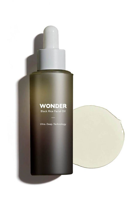 Haruharu Wonder Black Rice Facial Oil front MILK MONEY