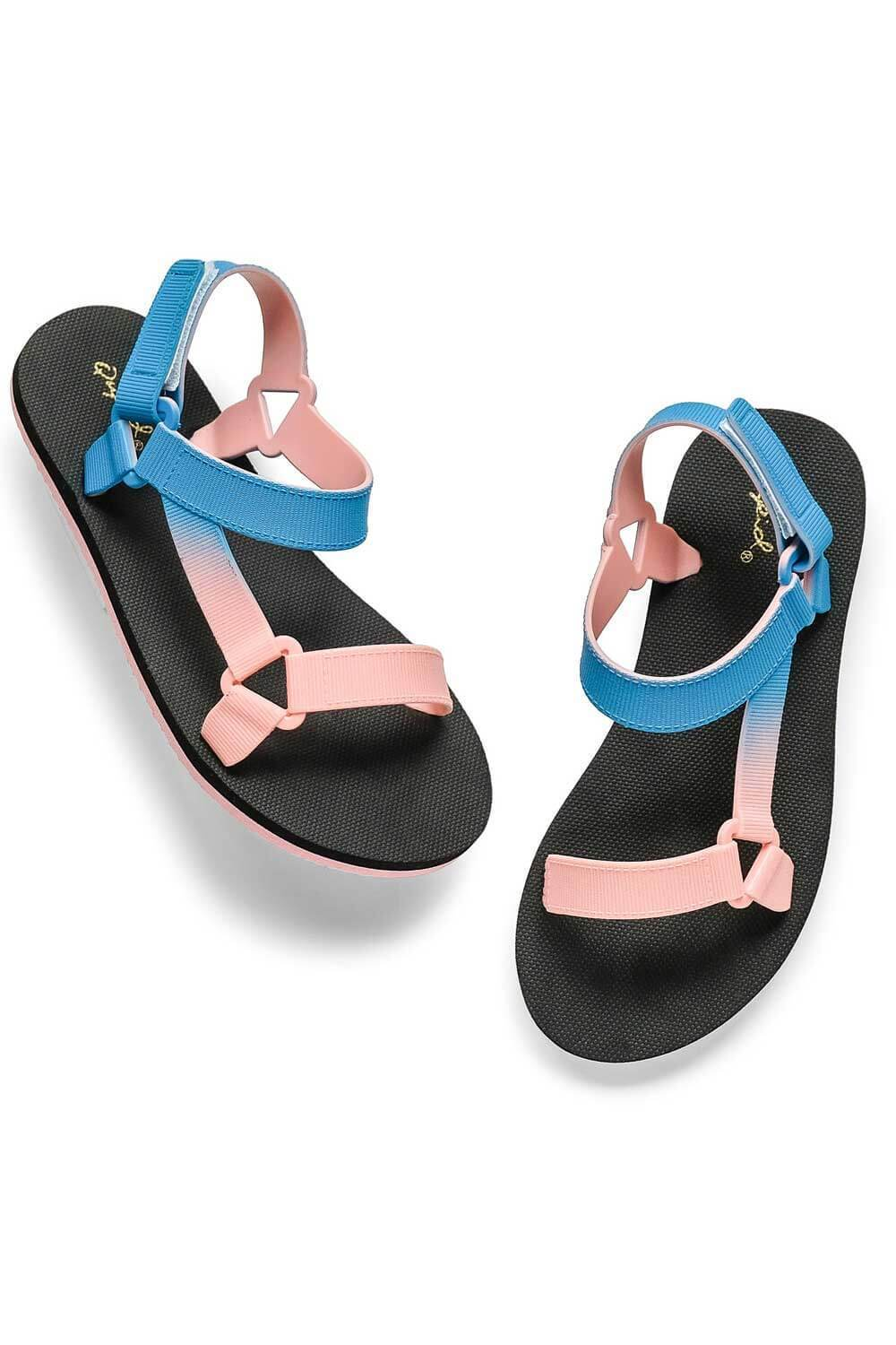 Icela Sandals Blue Pink - MILK MONEY