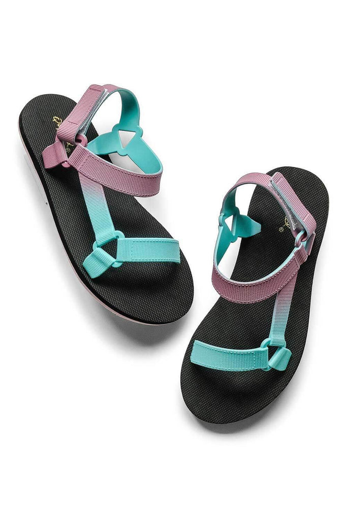 Icela Sandals Purple Teal - MILK MONEY
