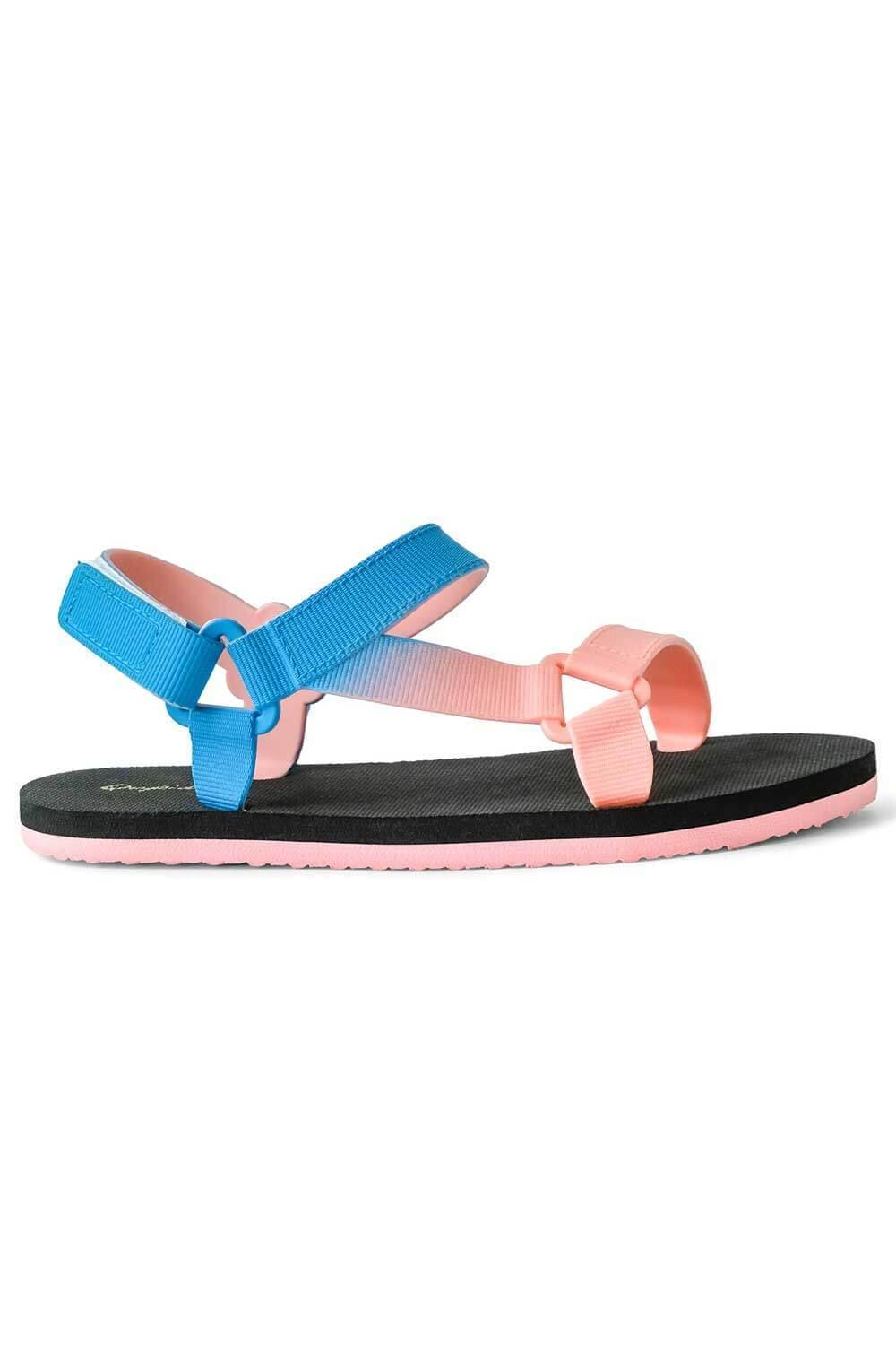 Icela Sandals Blue Pink side - MILK MONEY