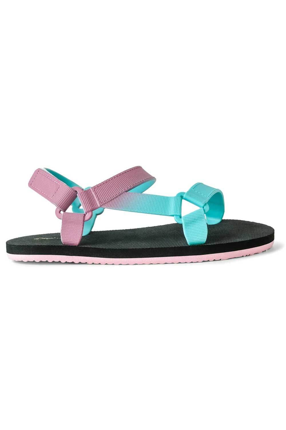 Icela Sandals Purple Teal side - MILK MONEY