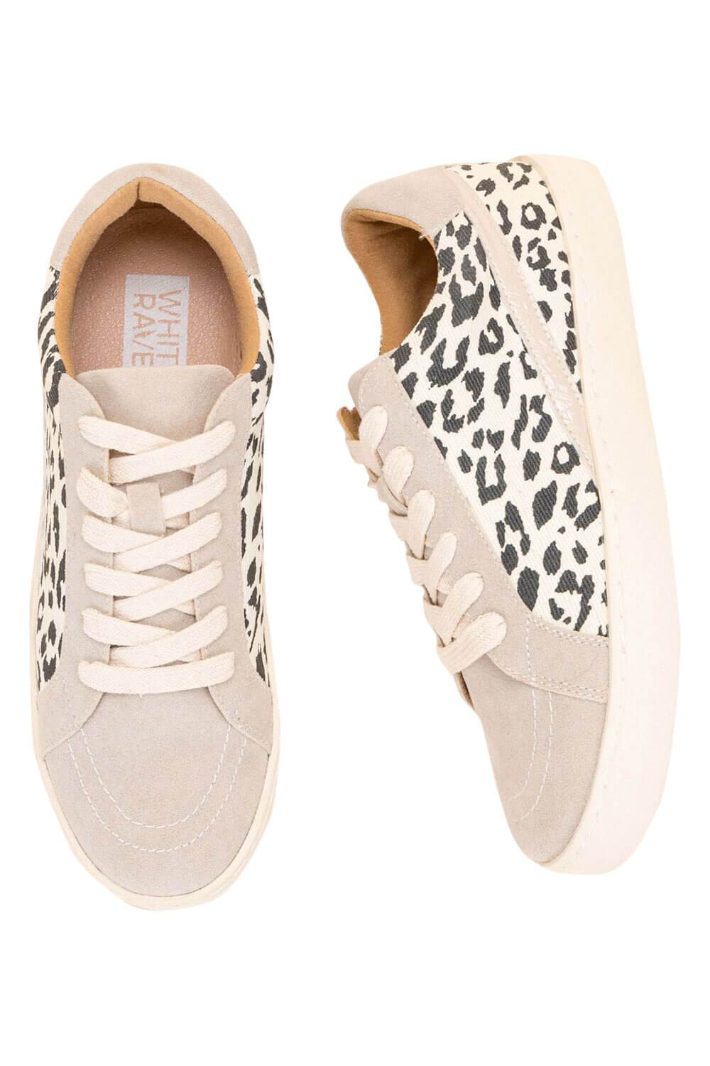 Jordan Leopard Low Top Sneaker beige MILK MONEY