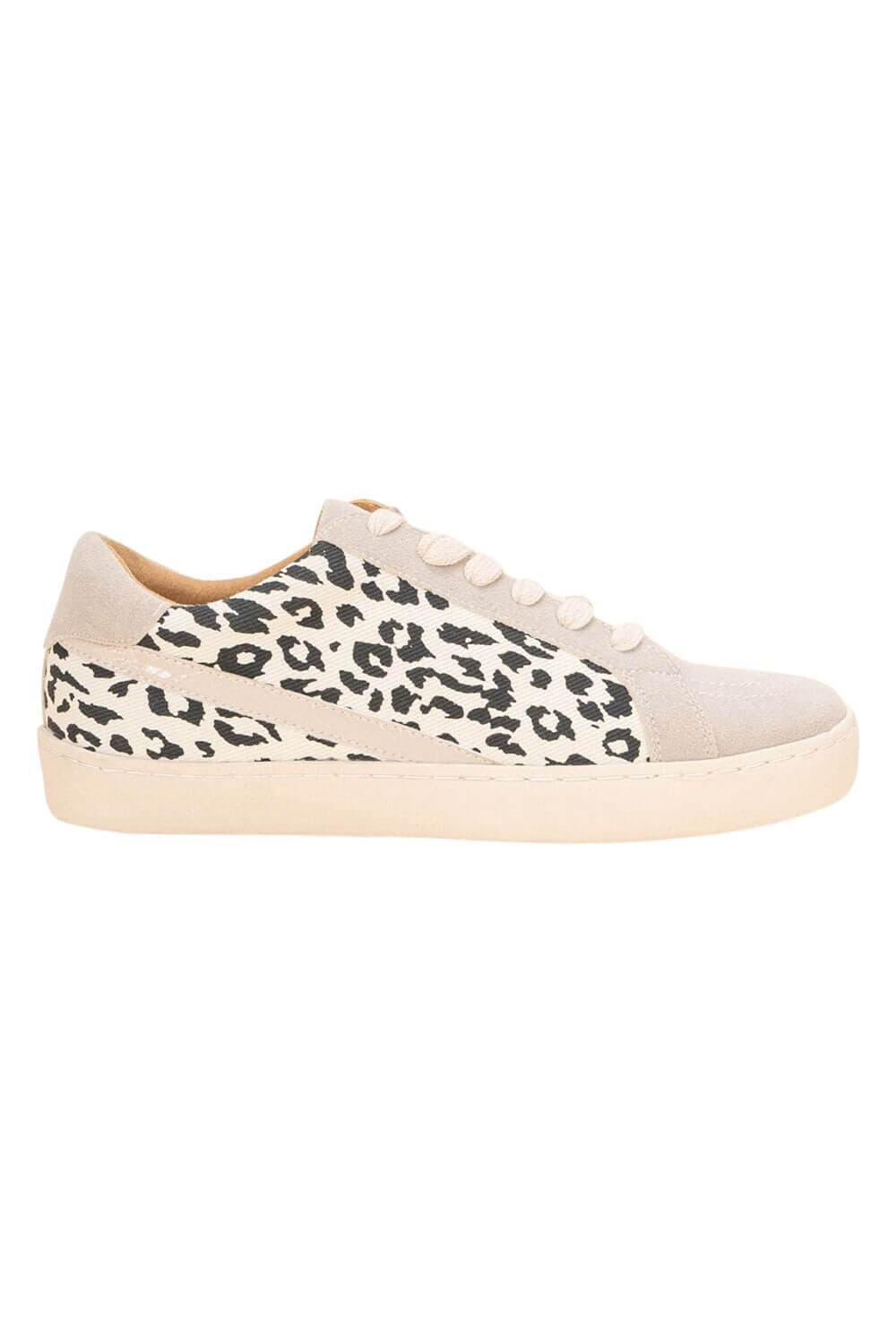 Jordan Leopard Low Top Sneaker beige side MILK MONEY