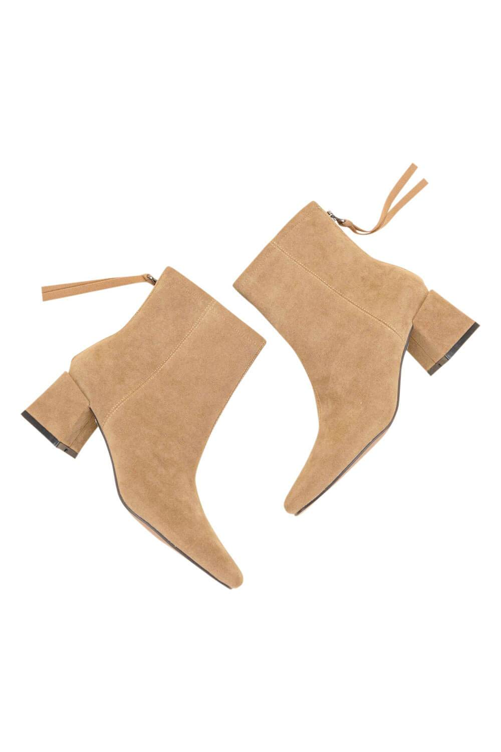 Kadee Square Toe Block Heel khaki MILK MONEY