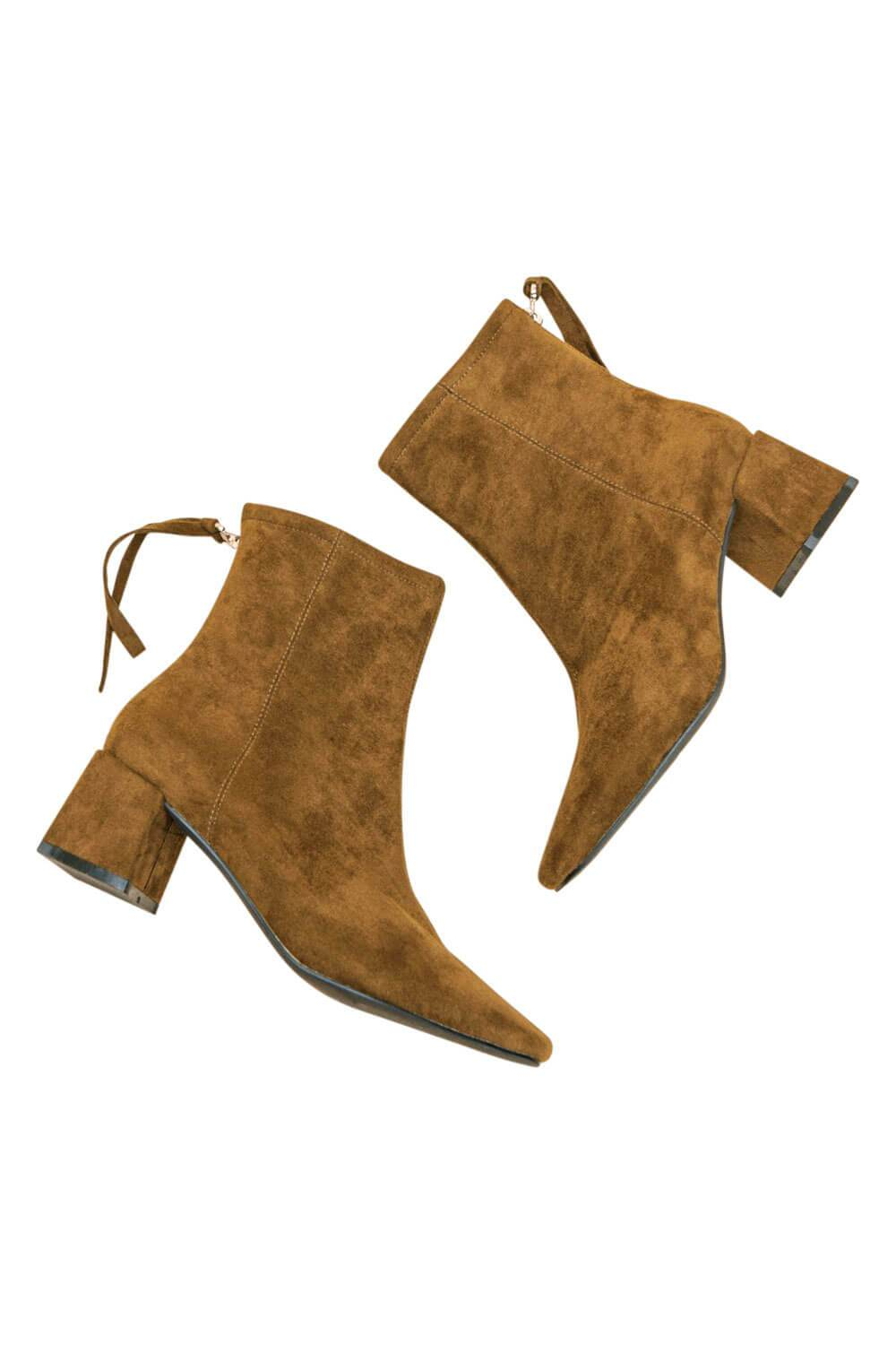 Kadee Square Toe Block Heel olive MILK MONEY