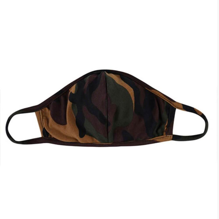 Kids Camo Protective Face Mask brown MILK MONEY