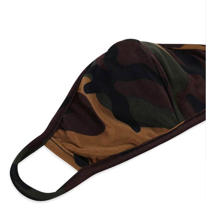 Kids Camo Protective Face Mask