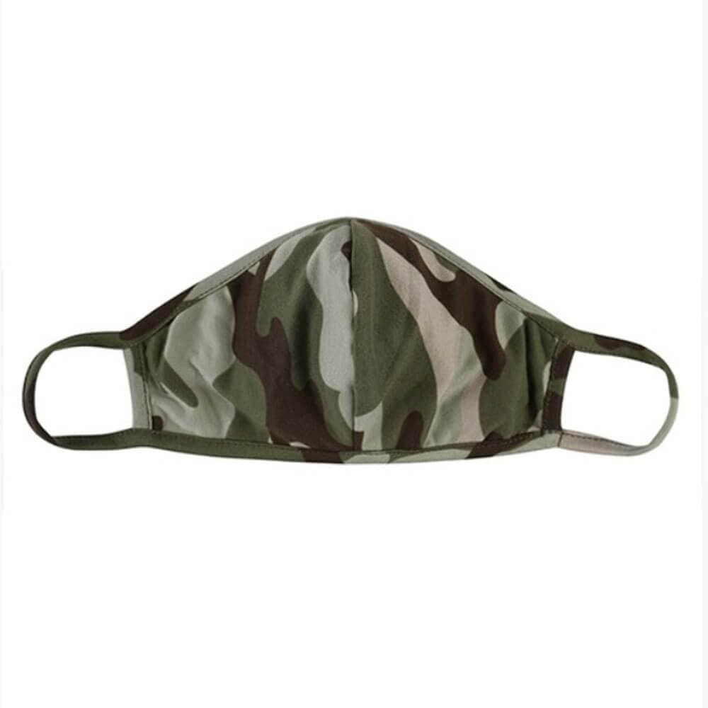 Kids Camo Protective Face Mask green MILK MONEY
