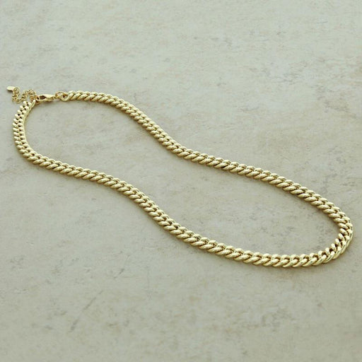 Lara Cuban Chain Necklace gold MILK MONEY