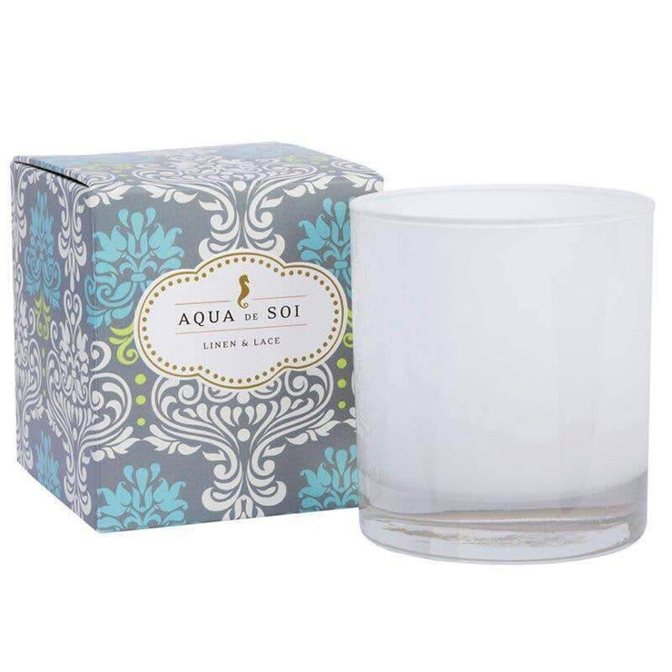 Linen and Lace Soy Wax Candle
