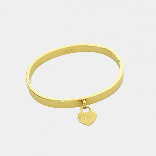 Love Bangle gold front MILK MONEY