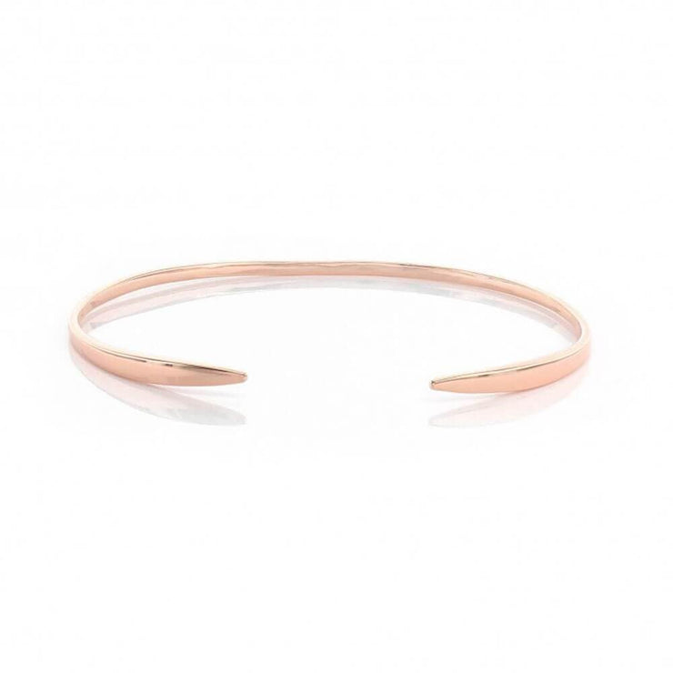 MILK MONEY Titan Layering Open Cuff Bracelet Rose Gold