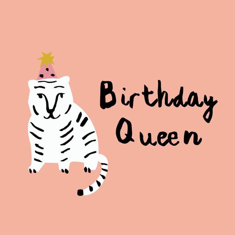MILK MONEY eGift Card Birthday Queen Tiger