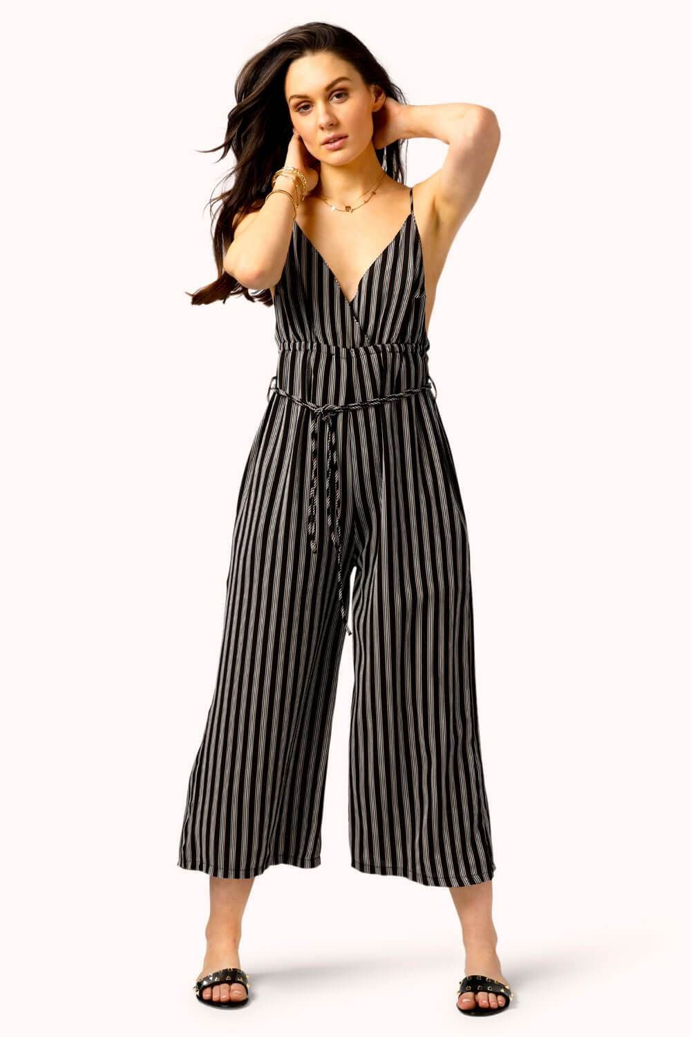 Mackenzie Striped Jumpsuit