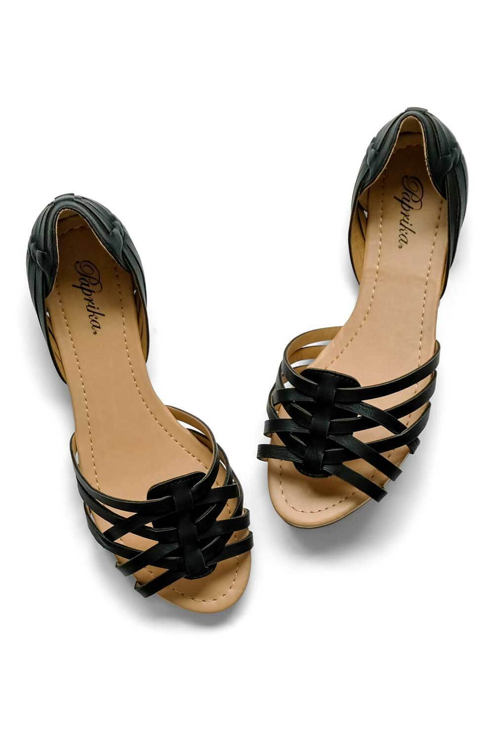 Marina Sandal Black - MILK MONEY