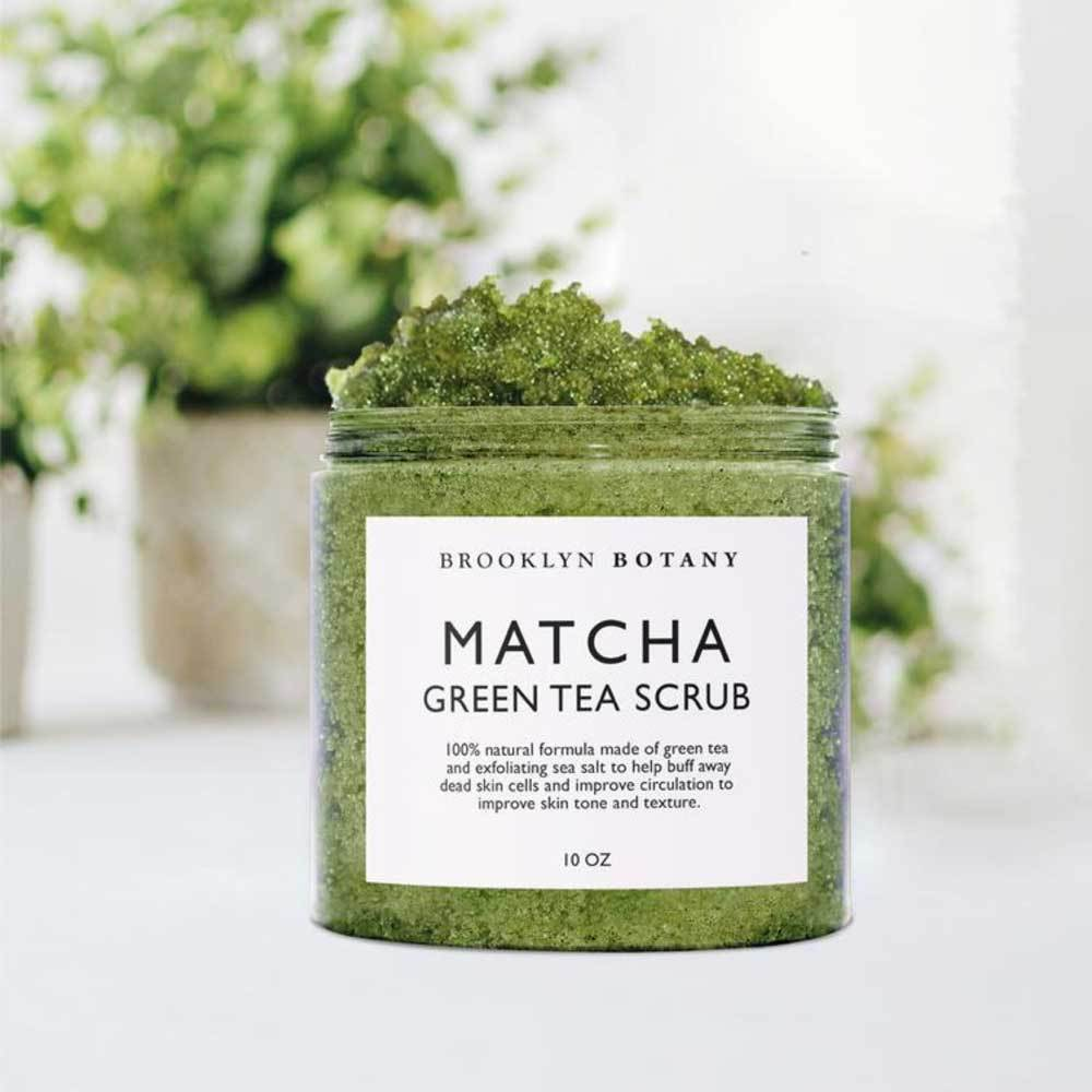 Matcha Green Tea Body Scrub by Brooklyn Botany - MILK MONEY