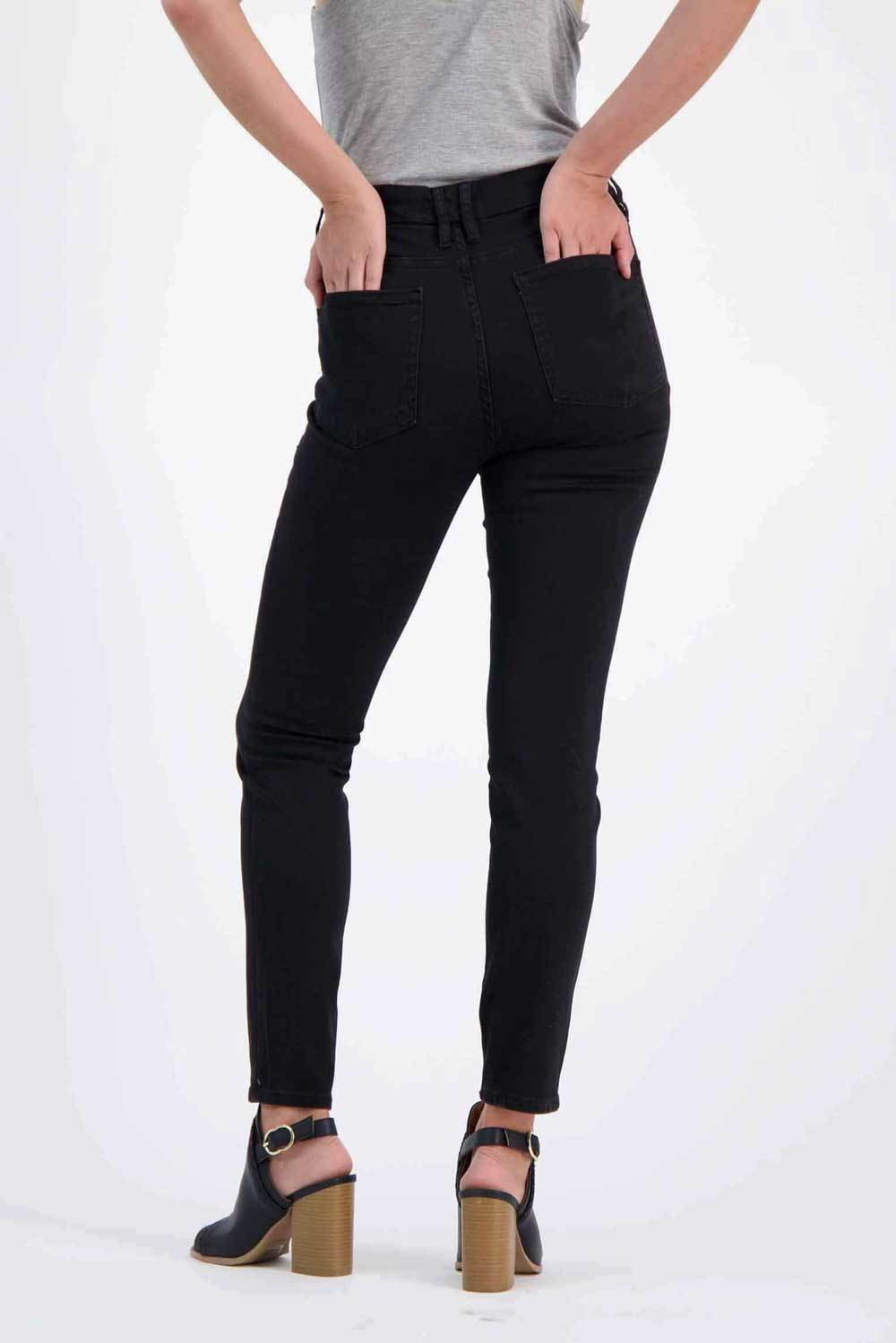 Milk Money Curvy Jeans Black - MILK MONEY