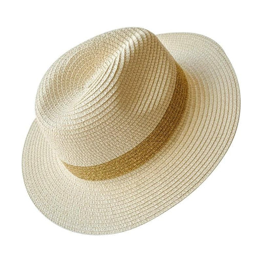 Summer Fedora Hat natural gold | MILK MONEY milkmoney.co | cute hats for women. hats and beanies. cute womens hats. pretty hats. cute bucket hats for women.