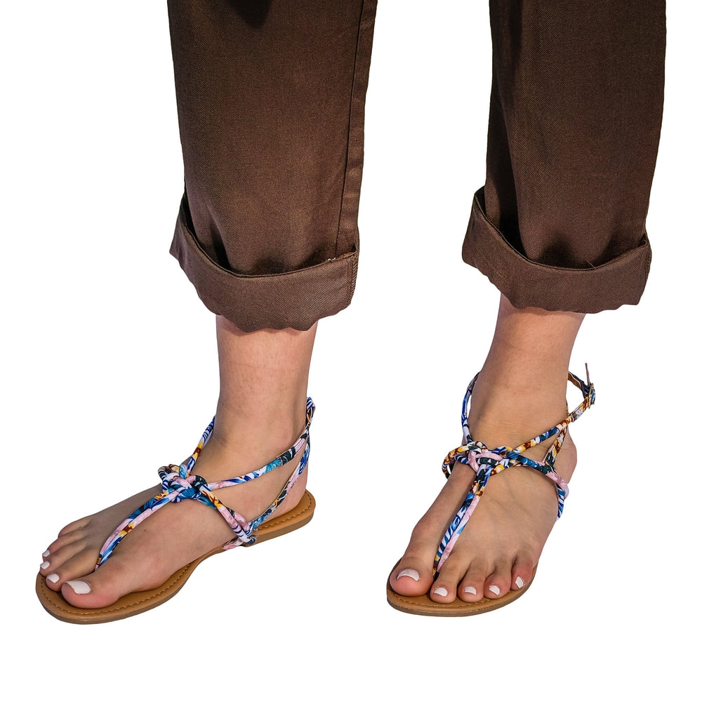 Fiji Sandal in Blue