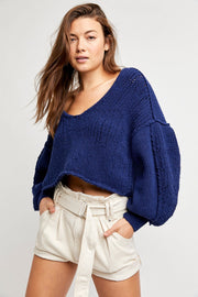 Free People Sea Bright Pullover vanguard front MILK MONEY