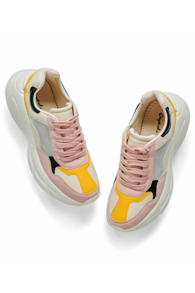 Piers Pink Sneaker Womens - MILK MONEY