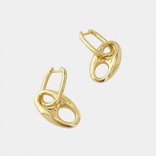 Puff Mariner Earrings gold MILK MONEY