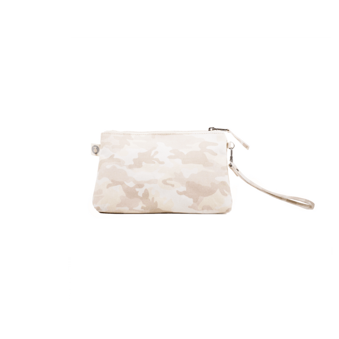 Mini Luxe Clutch Custom Bag Blush Camo - MILK MONEY