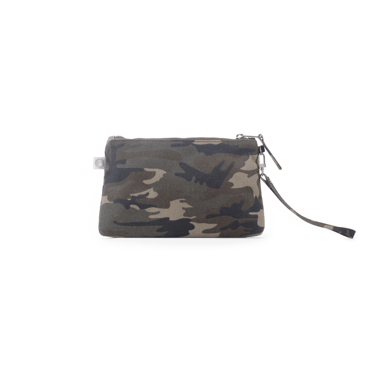 Mini Luxe Clutch Custom Bag Green Camo