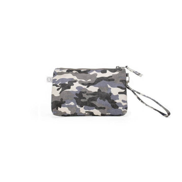 Mini Luxe Clutch Custom Bag Grey Camo - MILK MONEY