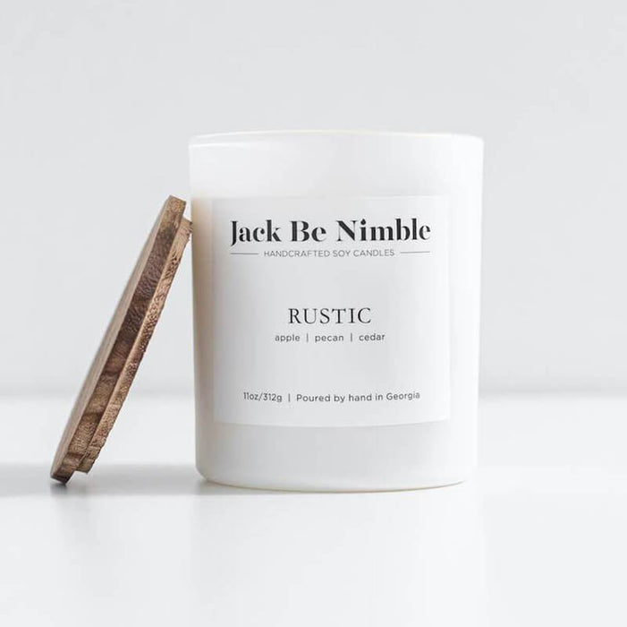 Rustic Soy Candle by Jack Be Nimble