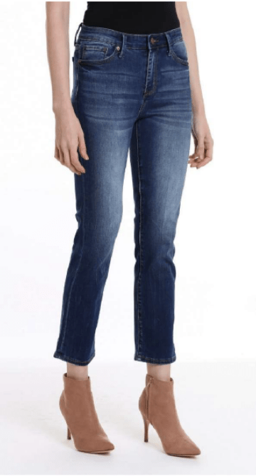 Milk Money High-Rise Mini Boot Jeans