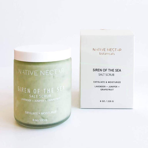 Siren of the Sea Salt Scrub by Native Nectar MILK MONEY