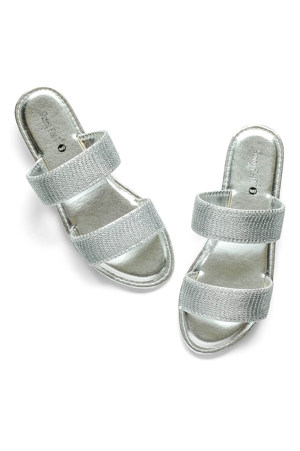 Skylar Coastline Sandal silver - MILK MONEY