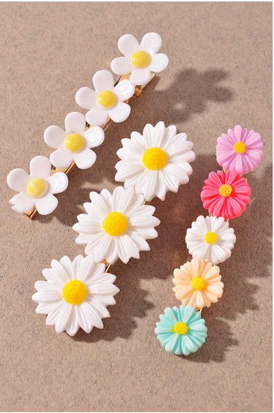 Springtime Flower Clip Set MILK MONEY