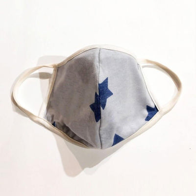 Star Power Protective Face Mask with Filter Pocket blue MILK MONEY