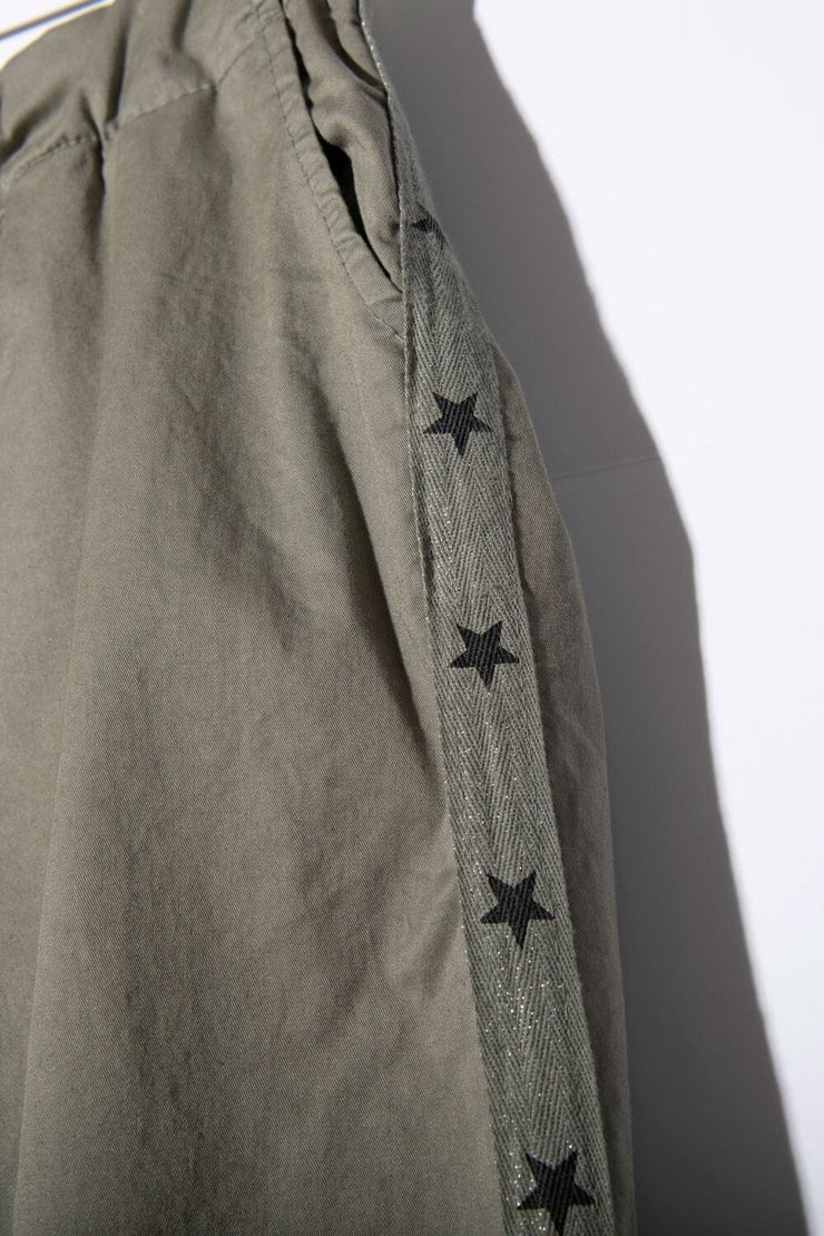 StarCrossed Chino Pants olive detail MILK MONEY