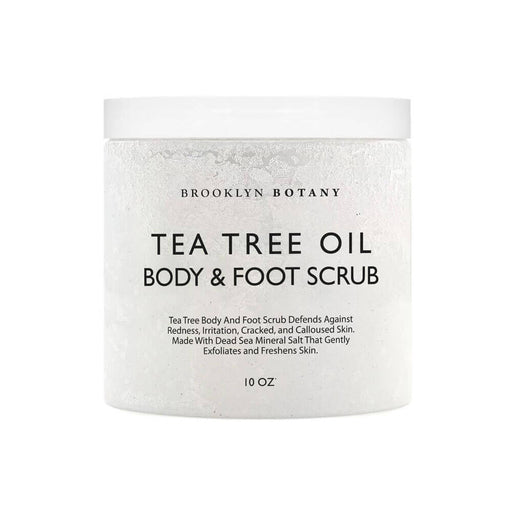 Tea Tree Body and Foot Scrub by Brooklyn Botany MILK MONEY