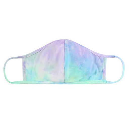 Tie Dye Protective Face Mask aqua MILK MONEY