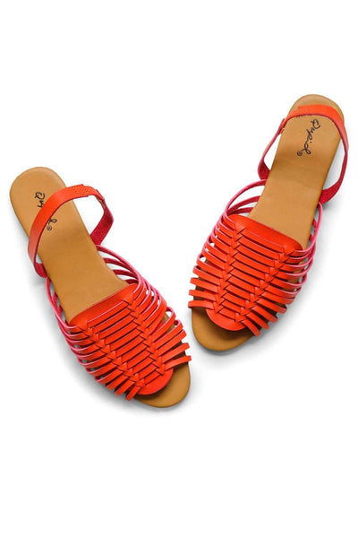 Tucson Sandal Orange -MILK MONEY
