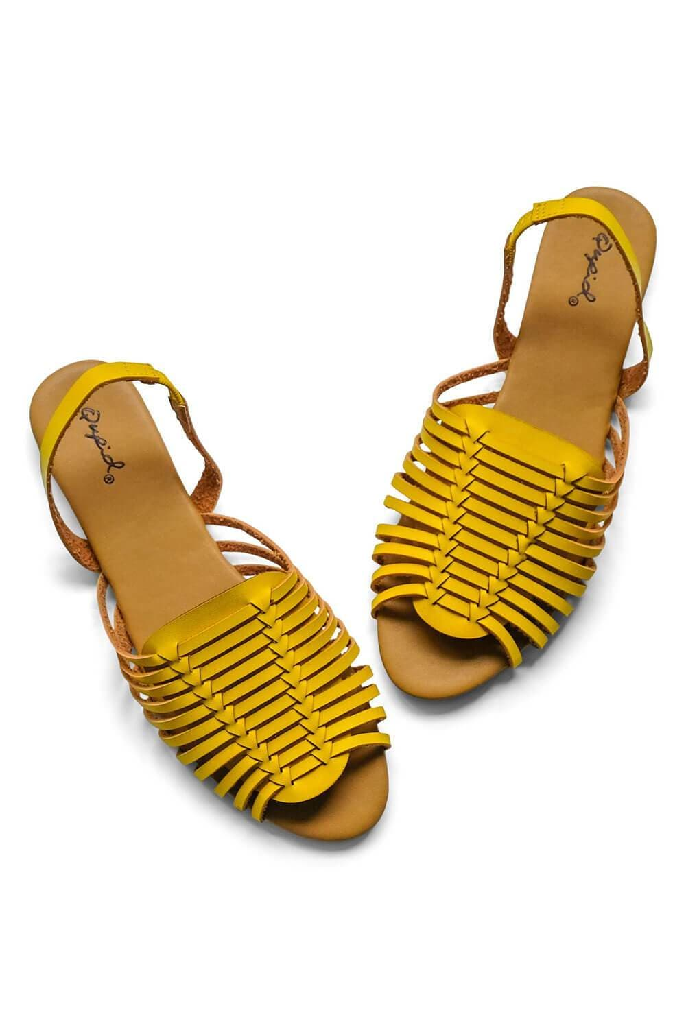 Tucson Sandal Yellow - MILK MONEY