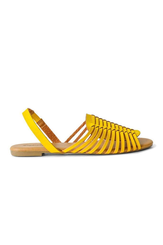 Tucson Sandal Yellow side -MILK MONEY