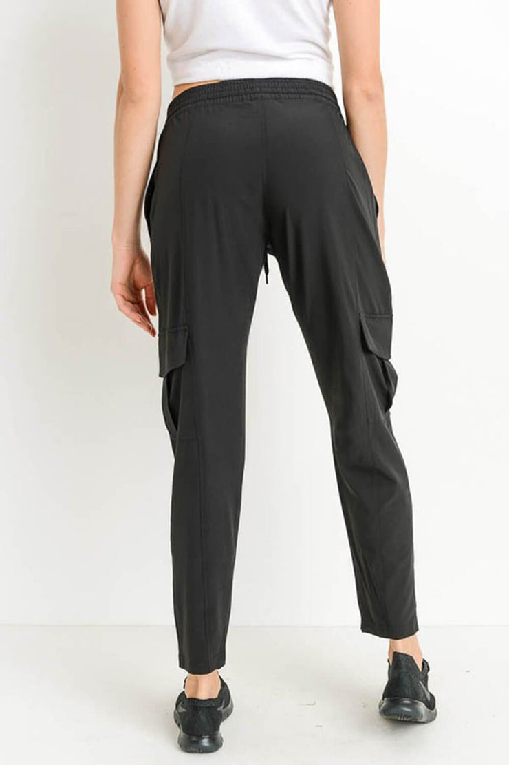 Ulla Cargo Jogger black back MILK MONEY